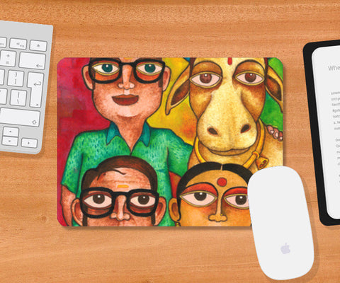 Our Desi Bride Mousepad | Artist : Rohit B