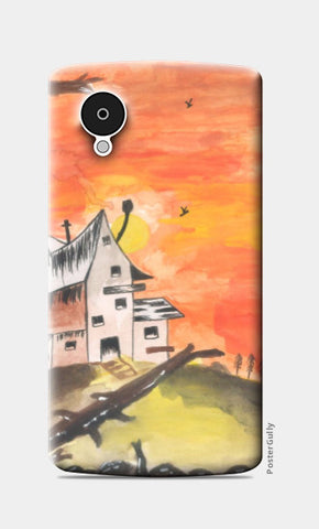 Nexus 5 Cases, Haunted House Nexus 5 Case | Artist: Teena Chauhan, - PosterGully