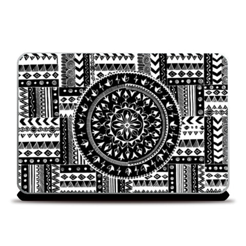 Artistry of Life | Zentangle Art Laptop Skins | Artist : Sriparna Chandra