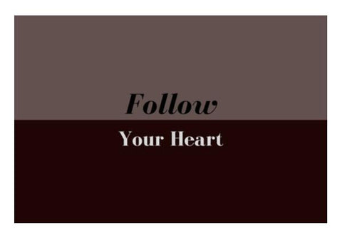 PosterGully Specials, Follow your heart Wall Art  | Artist : Pallavi Rawal, - PosterGully