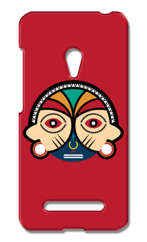 Round Tribal Mask Asus Zenfone 5 Cases | Artist : Designerchennai