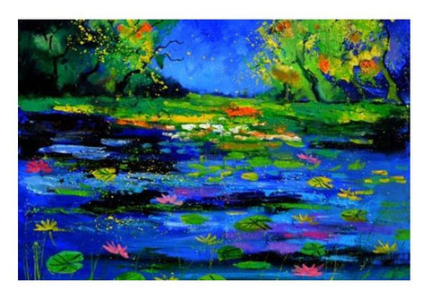 PosterGully Specials, pond 67512 Wall Art | Artist : pol ledent | PosterGully Specials, - PosterGully