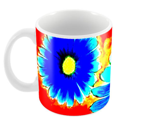 Wall Flower Coffee Mugs | Artist : Awanika Anand
