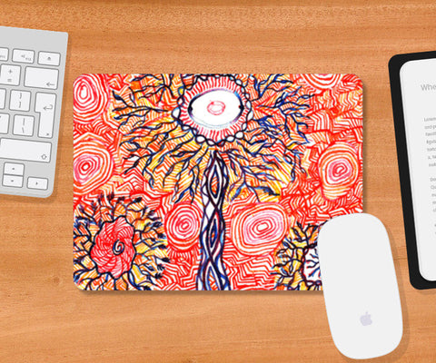 Mousepad, Trippy Psynapse Science Sh*t Mousepad | Artist : Aashna Aasif, - PosterGully