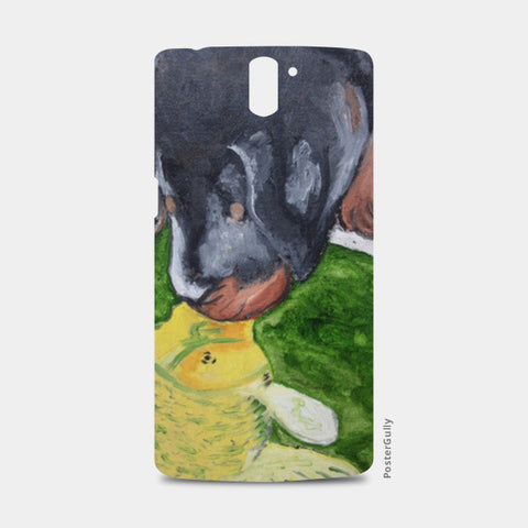 Puppy love @srijana's One Plus One Cases | Artist : srijana giri