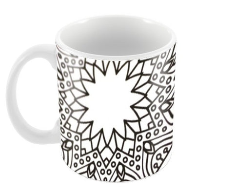 hippie art Coffee Mugs | Artist : the scribble stories