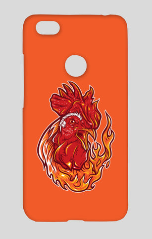 Rooster On Fire Redmi Note 5A Cases | Artist : Inderpreet Singh