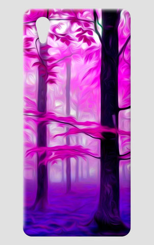 Pink Nature One Plus X Cases | Artist : Rameshwar Chawla