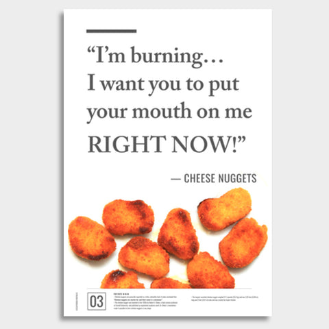 Junk Seduction_Nuggets Giant Poster | Artist : Scatterred Partikles