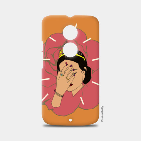 BROWN GIRL Moto X2 Cases | Artist : Jignesh Waghela