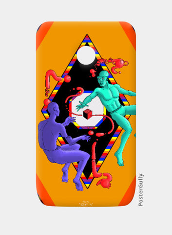 Moto E Cases, Float Moto E Case | Artist: Sidharth Ojha, - PosterGully