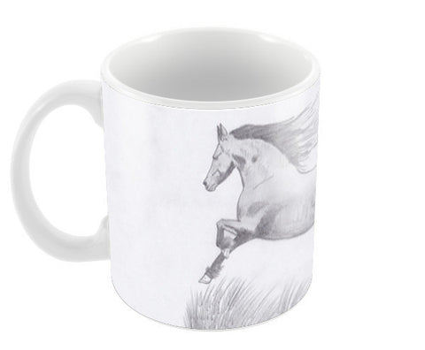 Black Beauty Coffee Mugs | Artist : Saswata Das
