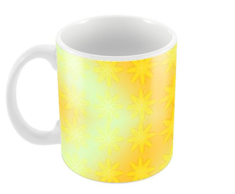 Seamless Yellow flowers Coffee Mugs | Artist : Natraj Vemuri