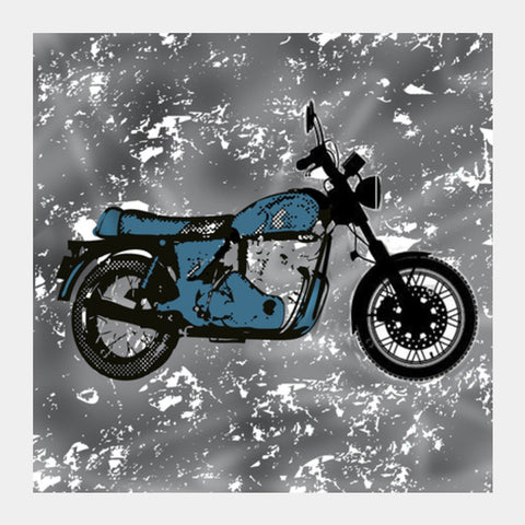 Square Art Prints, Vintage bike  Square Art Prints | Artist : Pritika Uppal, - PosterGully