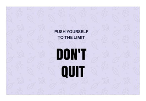 PosterGully Specials, Don't Quit Wall Art  | Artist : Pallavi Rawal, - PosterGully