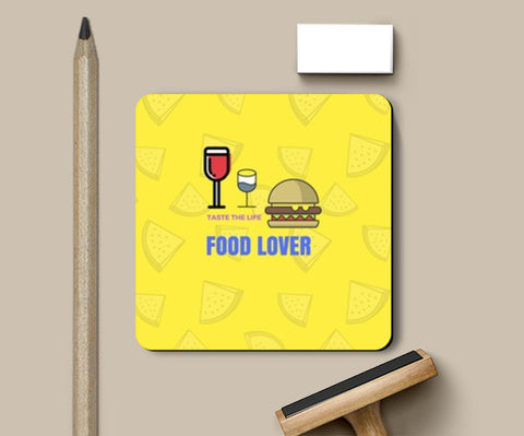Food Lover Coasters | Artist : Pallavi Rawal