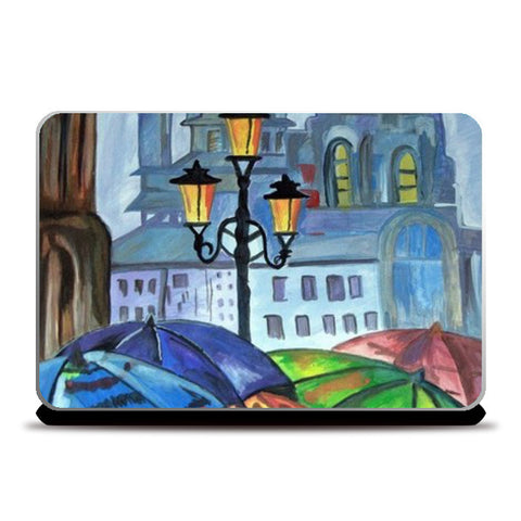 Laptop Skins, Beautiful Evening Laptop Skins | Artist : Kriti Pahuja, - PosterGully