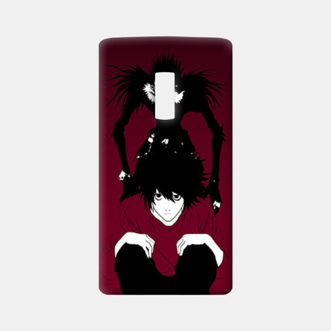 "death note ""L"" One Plus Two Cases 