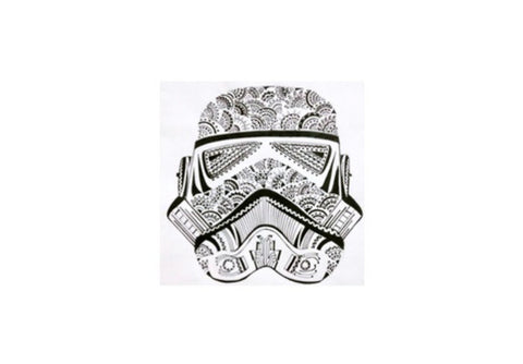 storm trooper Wall Art  | Artist : All the randomness