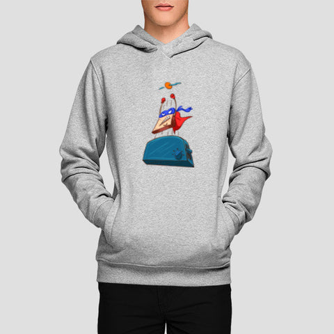 Super Toast Hoodies | Artist : Malay Jain