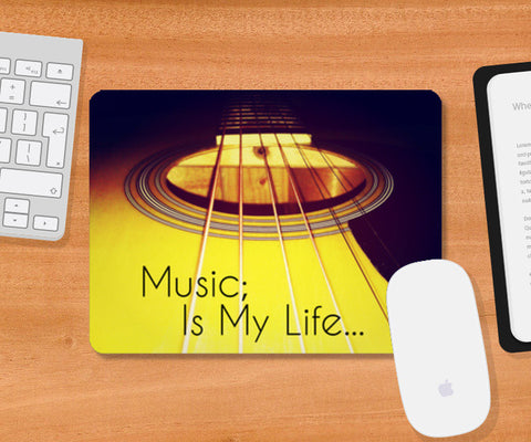 Mousepad, Music Is My Life 001 Mousepad | Artist : Richard Howardson, - PosterGully