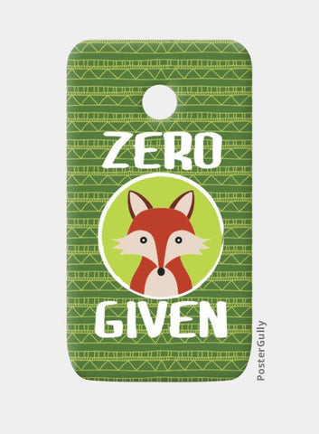 Moto E Cases, Zero Fox Given Moto E Cases | Artist : Random Chinese Friend, - PosterGully