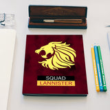 Squad Lannister | Game of Thrones  Notebook | Artist : safira mumtaz