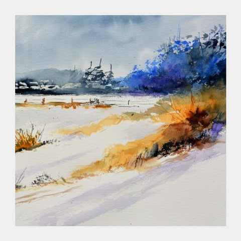 Square Art Prints, Winter 513651 Square Art Prints | Artist : pol ledent, - PosterGully