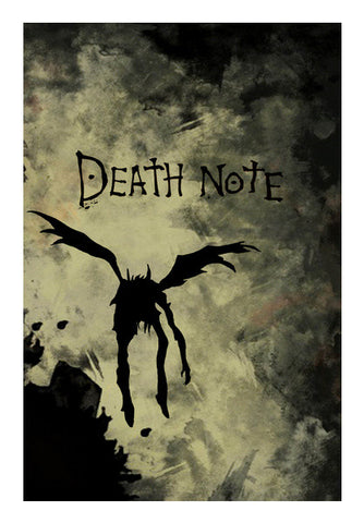 Death note Wall Art | Artist : BY Darakhsha Dandekar and Karan Mehta