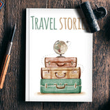 travel stories Notebook | Artist : Colour me expressive