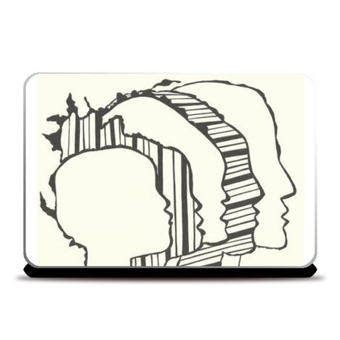 Laptop Skins, Different strokes laptop skin Laptop Skins | Artist : Meanderings, - PosterGully