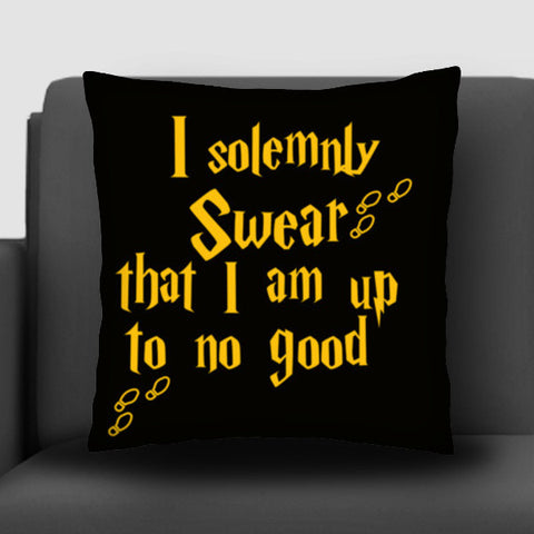 Harry Potter - I Solemnly Swear that i am up to no good Cushion Covers | Artist : Manju Nk