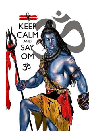 Wall Art, Keep Calm with Mahadev  Wall Art | Artist : Draw On Demand, - PosterGully
