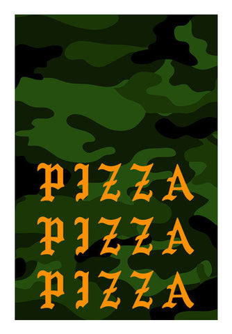 I Feel Like Pizza Art PosterGully Specials