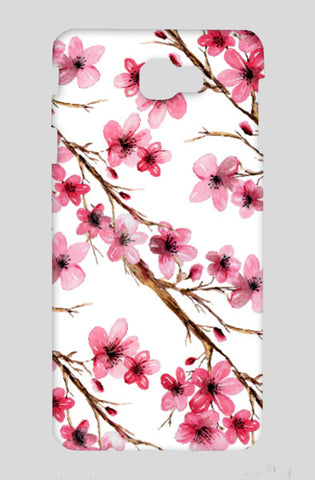 Beautiful Pink Cherry Blossom Floral Branches Design Samsung On Nxt Cases | Artist : Seema Hooda