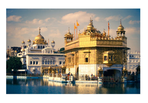 Wall Art, Golden Temple, Amritsar Wall Art | Artist : Gagandeep Singh, - PosterGully