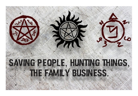 Wall Art, Supernatural: The family business  Wall Art  | Artist : Gauri Deshpande, - PosterGully
