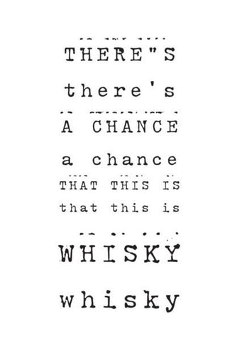 PosterGully Specials, Whisky ! Wall Art | Artist : Wiser Budweiser, - PosterGully