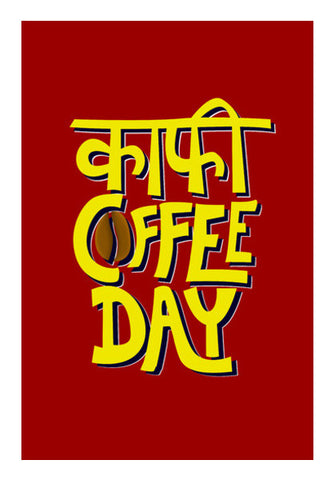 Kaafi Coffee Day Wall Art | Artist : Shrishti Chouhan