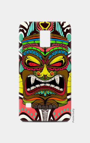 Tiki Monster Samsung S5 Cases | Artist : Pulkit Taneja