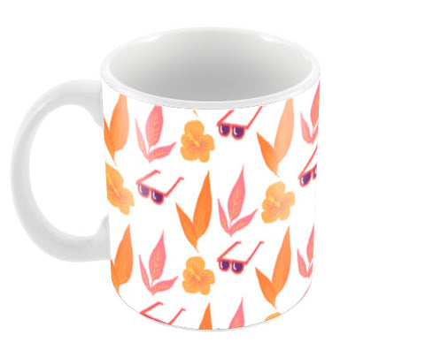 Tropical Vibes Coffee Mugs | Artist : The Un.Titled