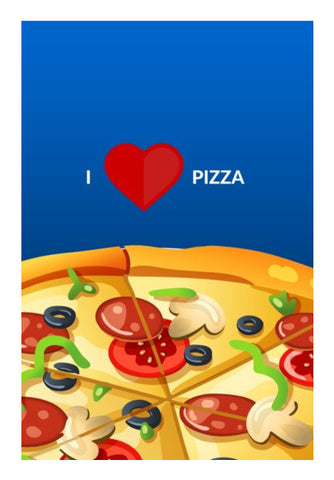 Wall Art, I love pizza |  Wall Art | Artist : Nikhil Wad, - PosterGully