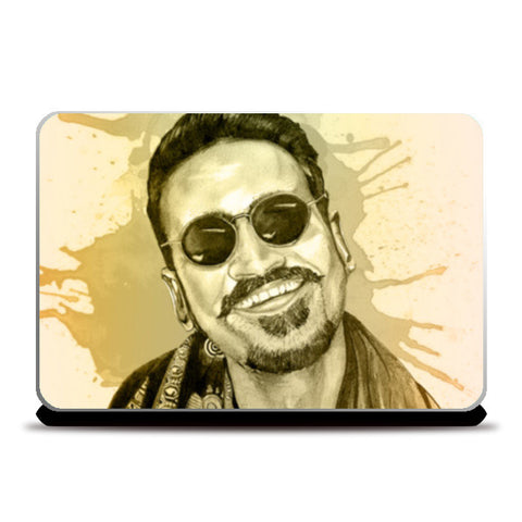 Danush - Maari(Watercolor) Laptop Skins | Artist : Sandeep Narayan