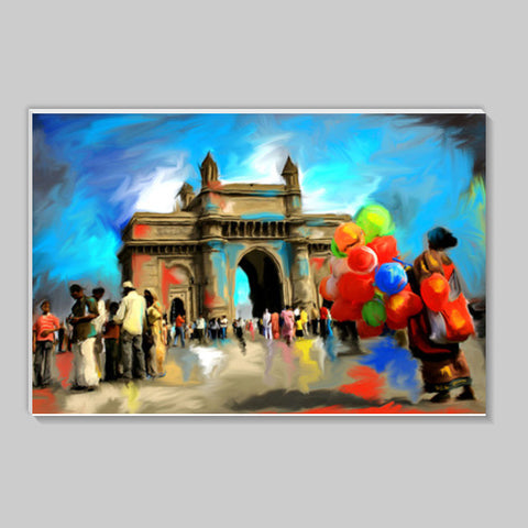 gateway of india Stick Ons | Artist : Pradeesh K