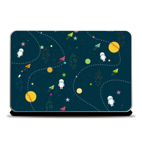 Planet space Laptop Skins | Artist : Designerchennai