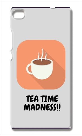Tea Time Madness Huawei P8 Cases | Artist : Pallavi Rawal