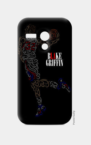 Blake Griffin Basketball Curves-Only Moto G Cases | Artist : Divyansh Deora