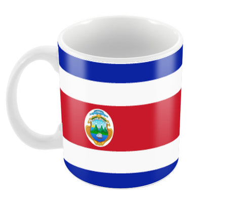 Costa Rica | #Footballfan Coffee Mugs | Artist : Creative DJ