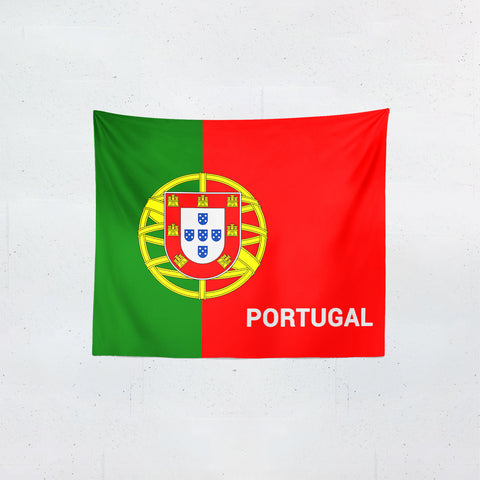 Portugal Flag Tapestries | #Footballfan