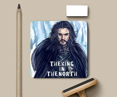 the king in the north Coasters | Artist : chaitanya kumar